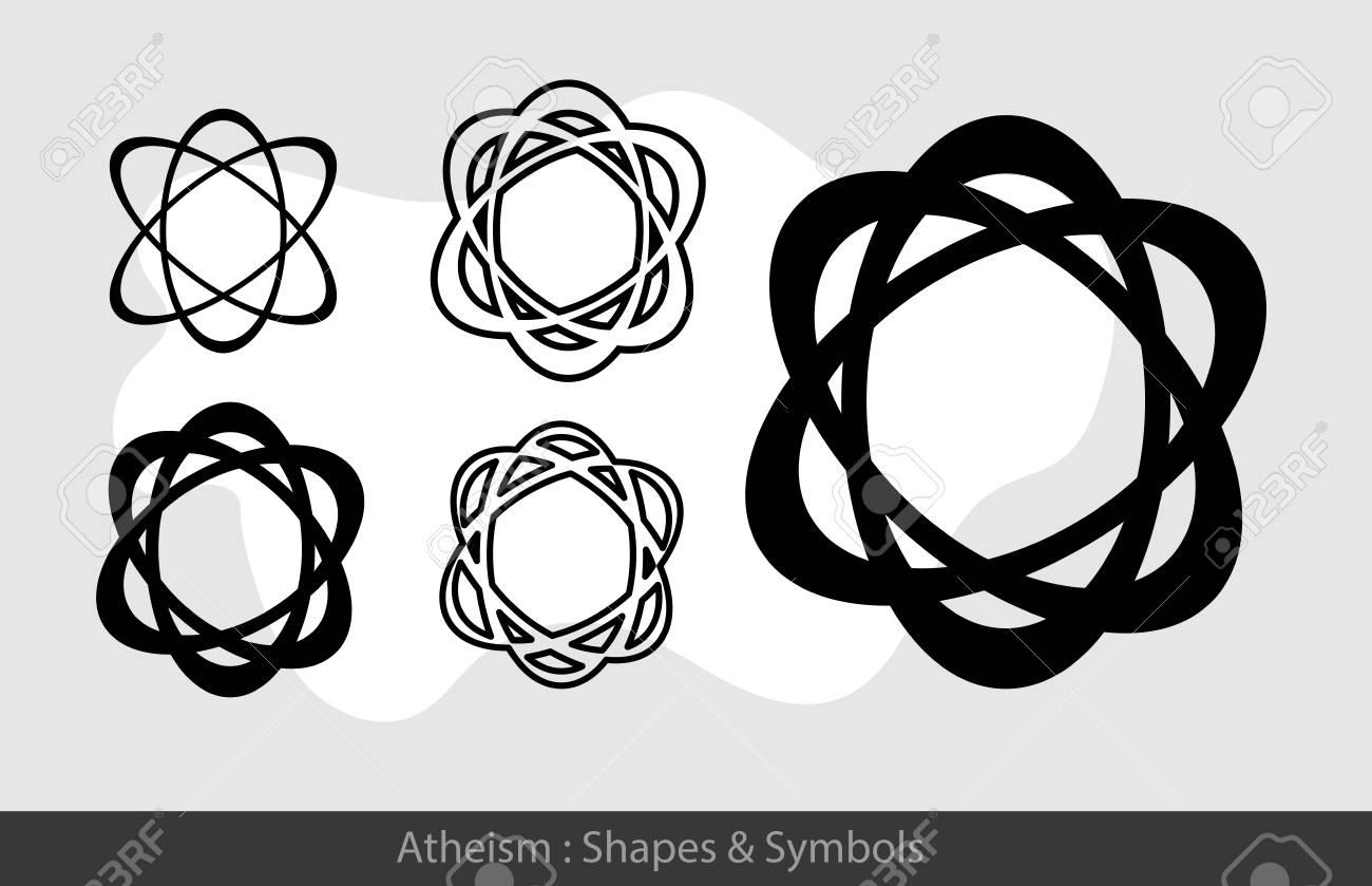 Atheistic symbols royalty free cliparts vectors and stock atheistic symbols stock vector 57732071 biocorpaavc Choice Image