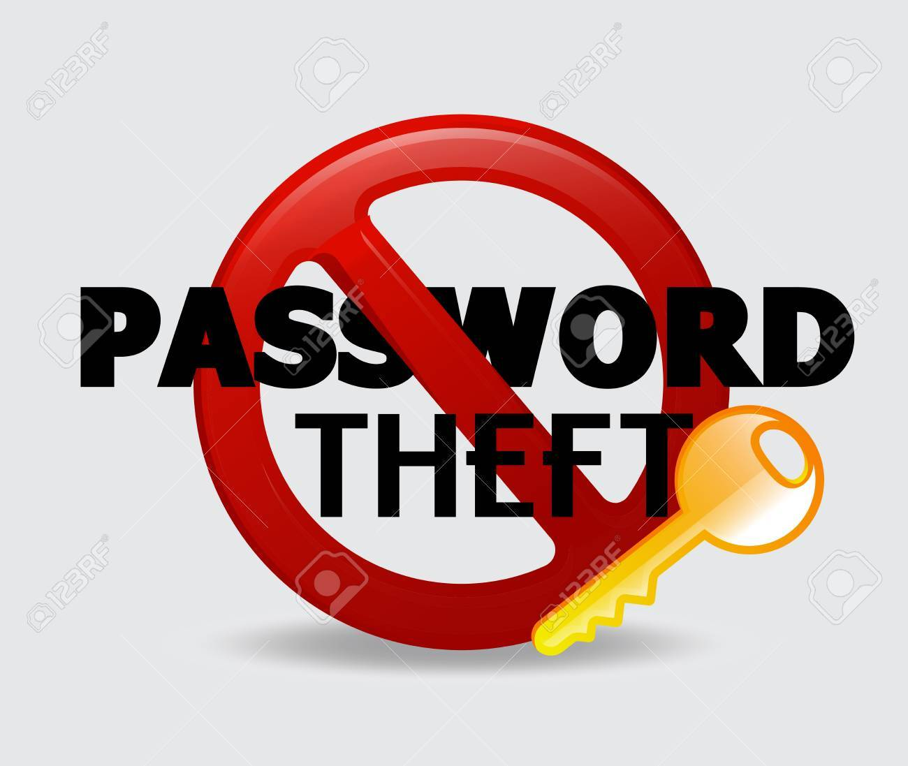 123Rf Password password theft vector concept royalty free cliparts, vectors, and