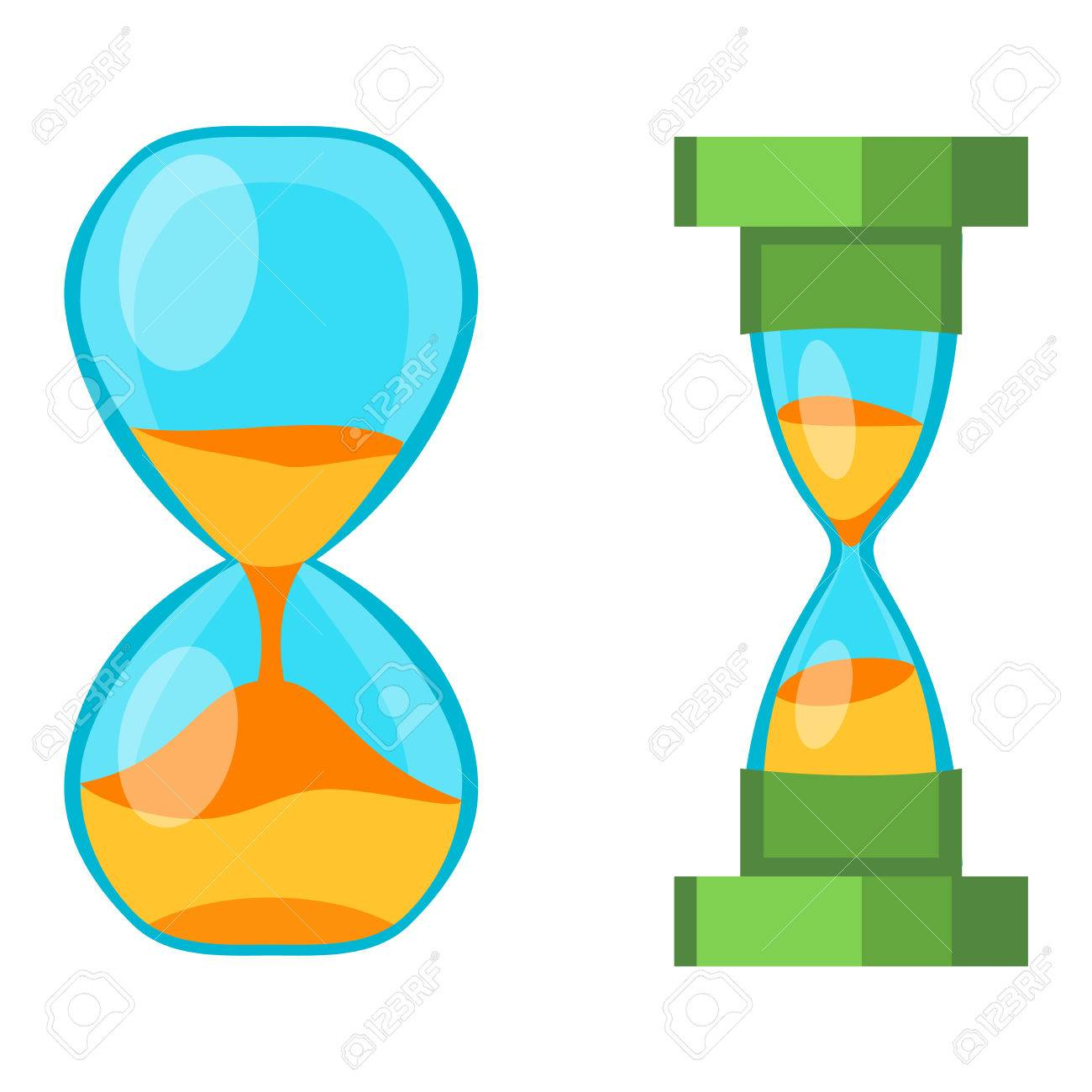 Sandglass icon  Sandglass Icon, Time Hourglass, Sand Clock Flat Design History ...