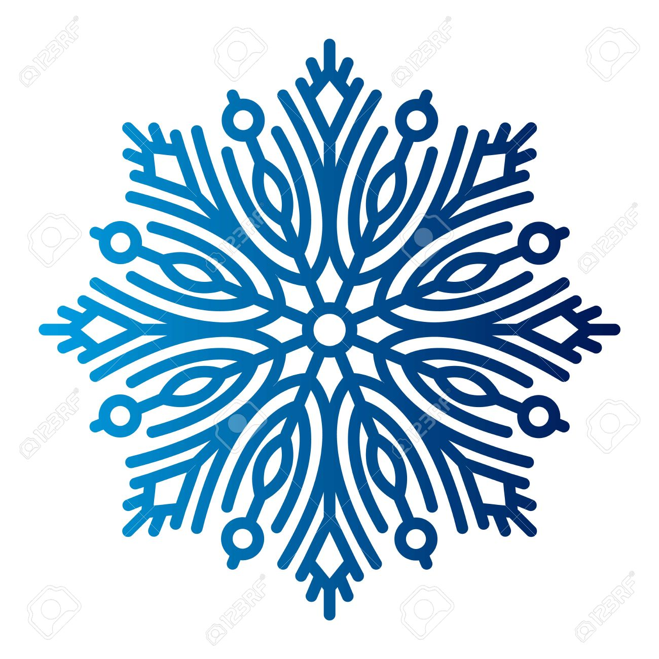 snowflake vector illustration and season nature winter sign symbol rh 123rf com white snowflake vector art Snowflake Clip Art SVG