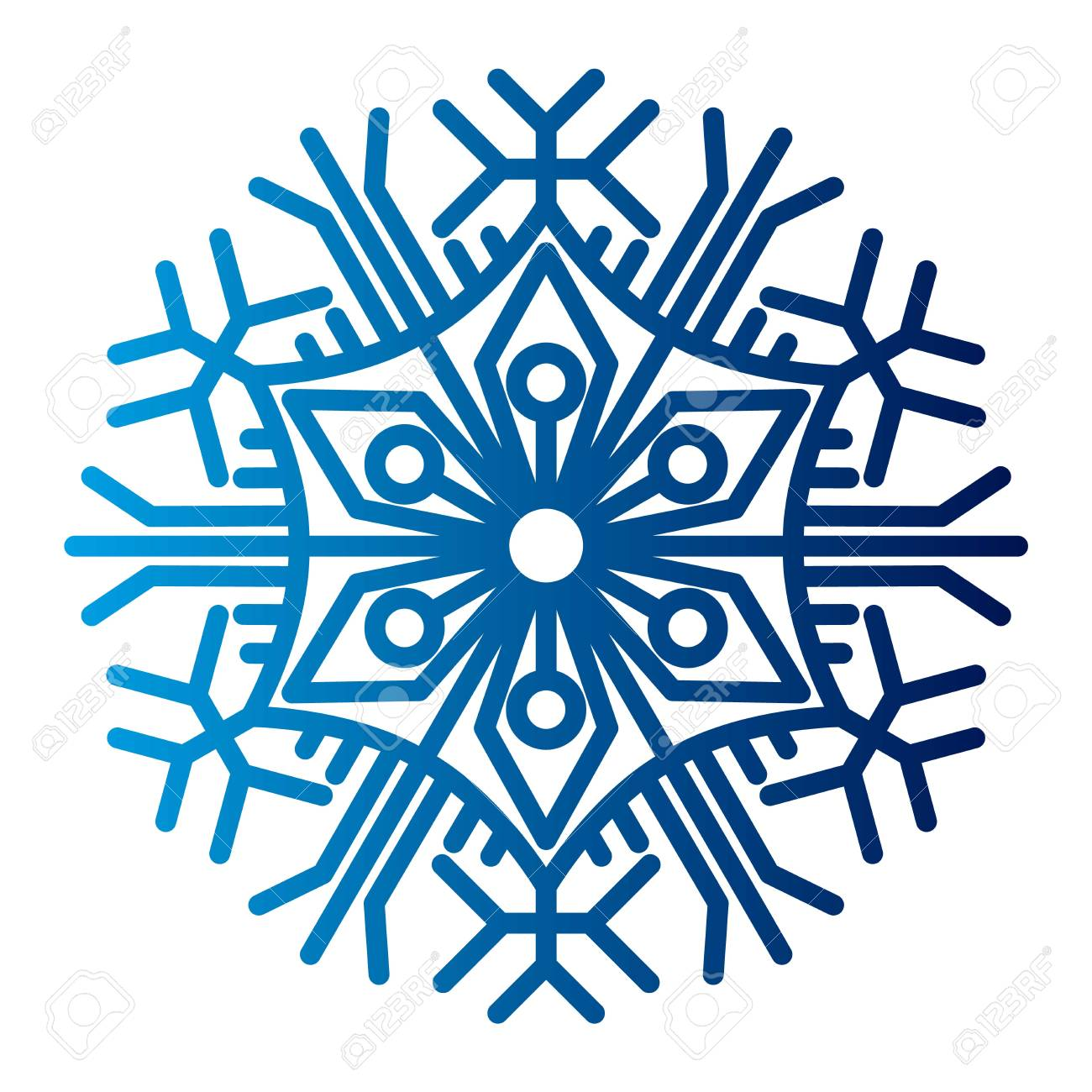 snowflake vector illustration and season nature winter sign symbol rh 123rf com snowflake vector image snowflake vector image