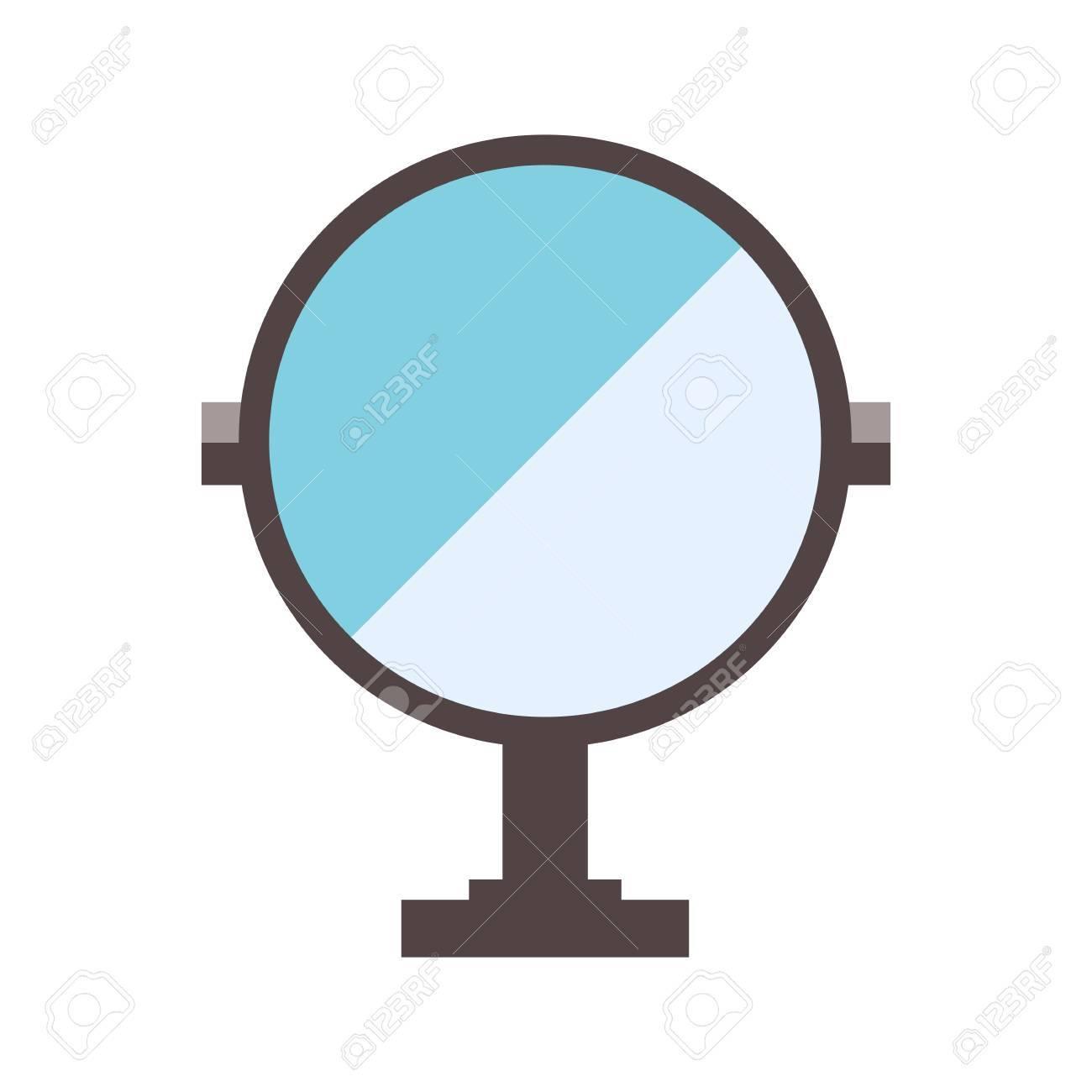 Spiegel Haushalt Schönheit Kosmetische Glas Mode-Objekt. Zubehör ...