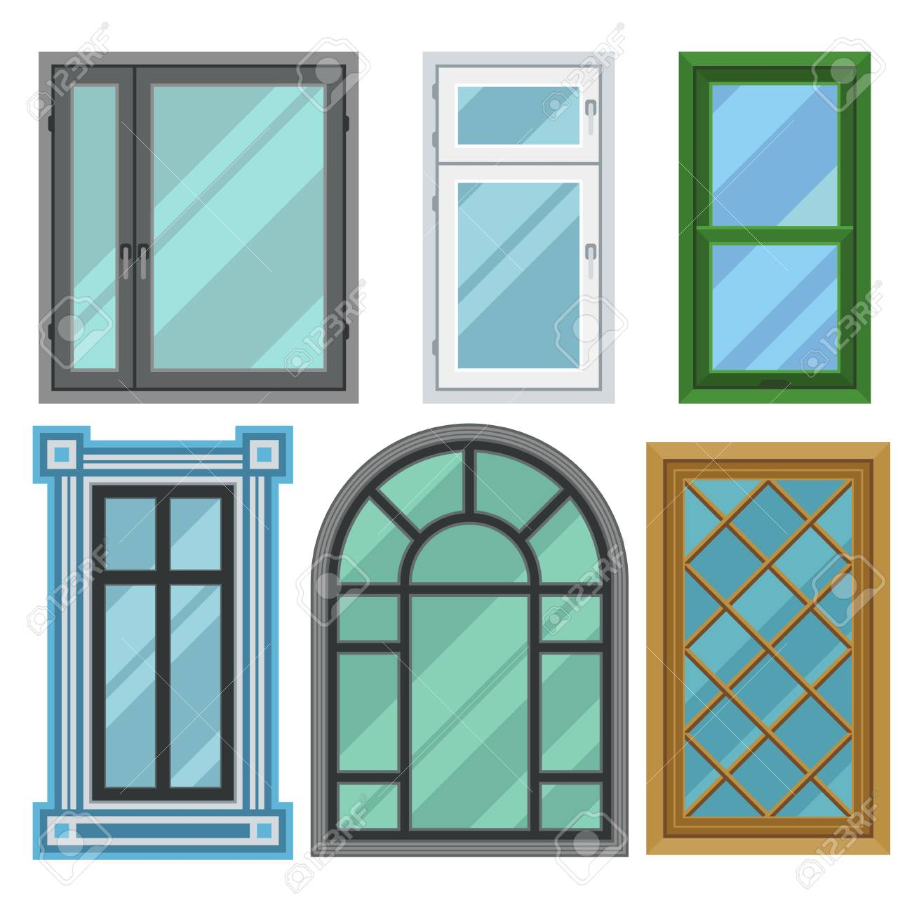 different types of frames