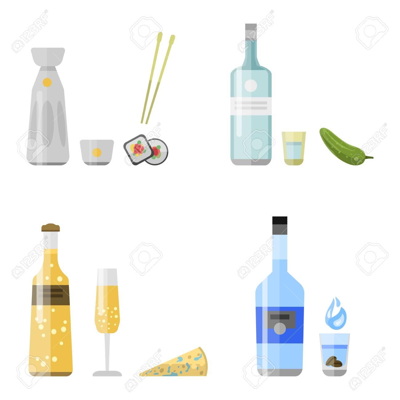 Alkohol Trinken Getränke Cocktail Aperitif Flasche Lager Container ...