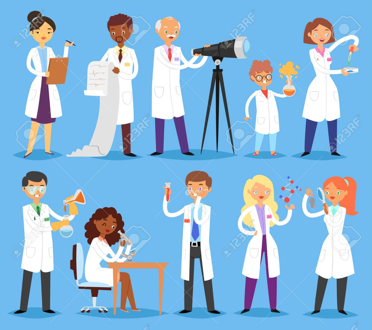 scientist vector professional people character chemist or doctor royalty free cliparts vectors and stock illustration image 102166461 scientist vector professional people character chemist or doctor