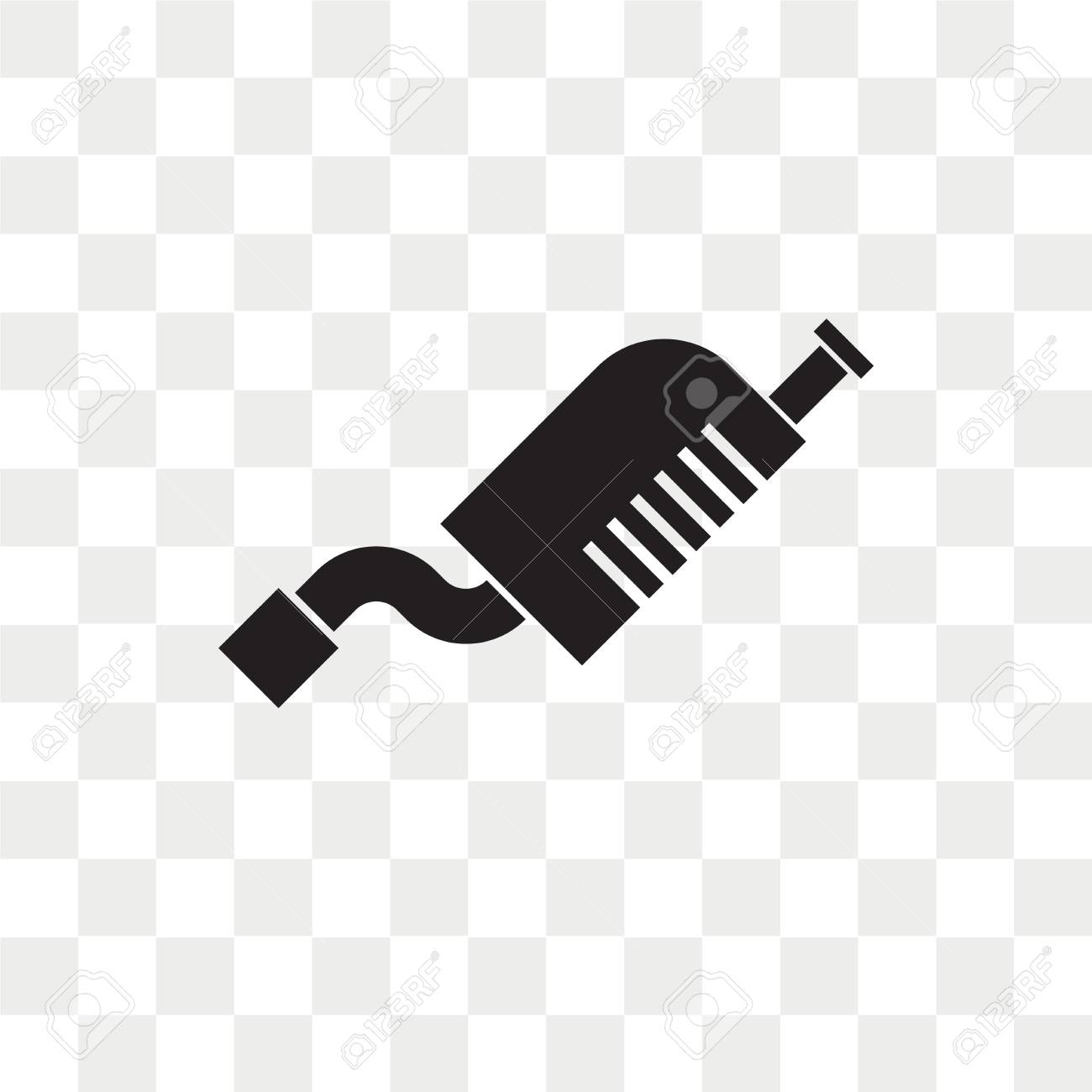 Exhaust Vector Icon Isolated On Transparent Background Exhaust Royalty Free Cliparts Vectors And Stock Illustration Image 108559234