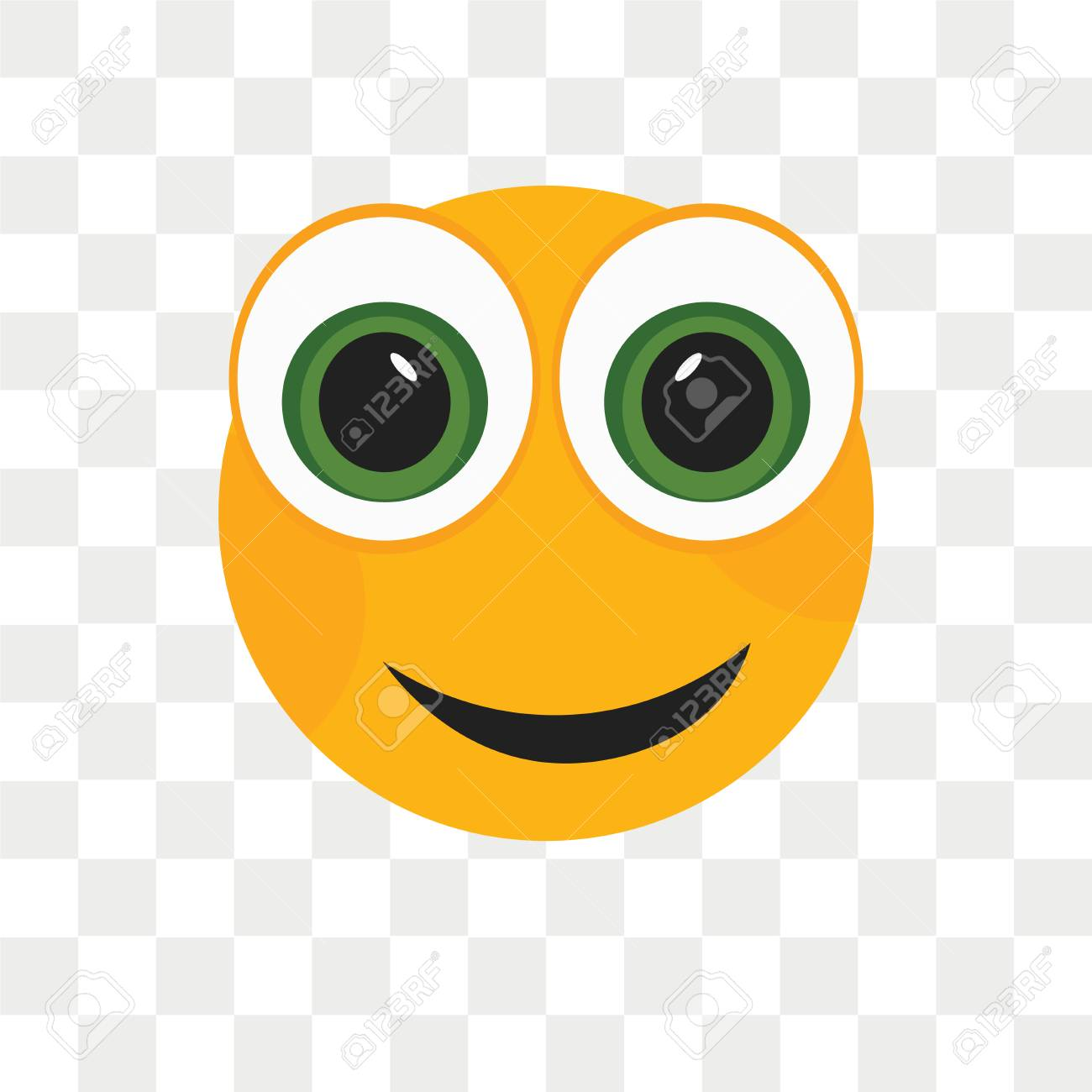 Angry Smile Vector Icon Isolated On Transparent Background Angry