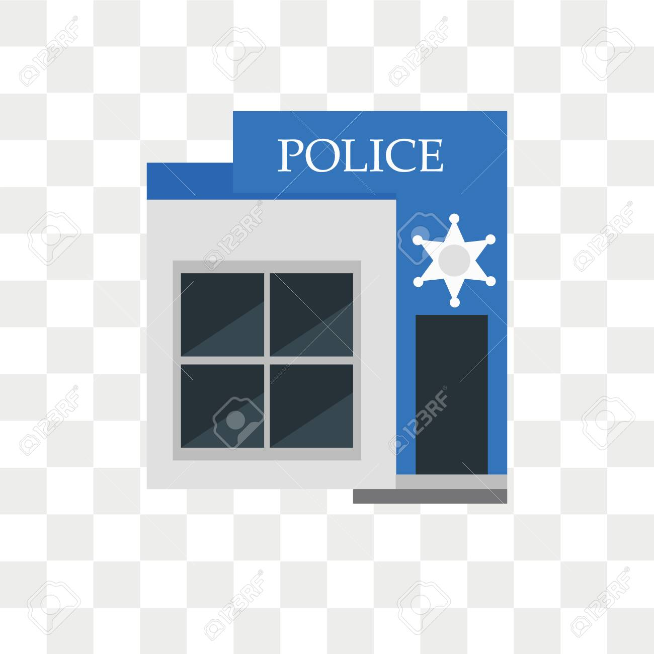 087ca8620dd934 Police vector icon isolated on transparent background, Police logo concept  Stock Vector - 108561412