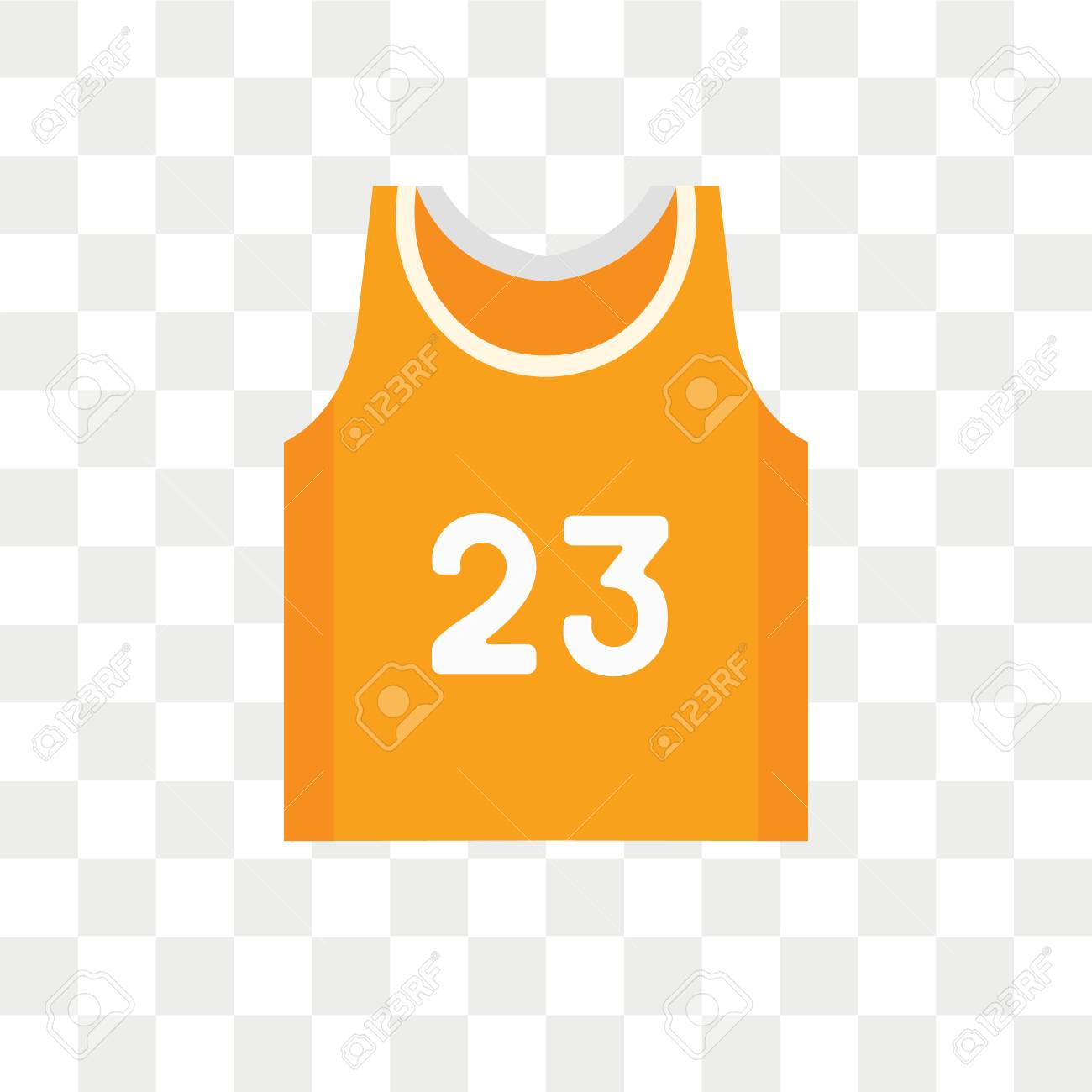 23619d884b6 Basketball jersey vector icon isolated on transparent background, Basketball  jersey logo concept Stock Vector -