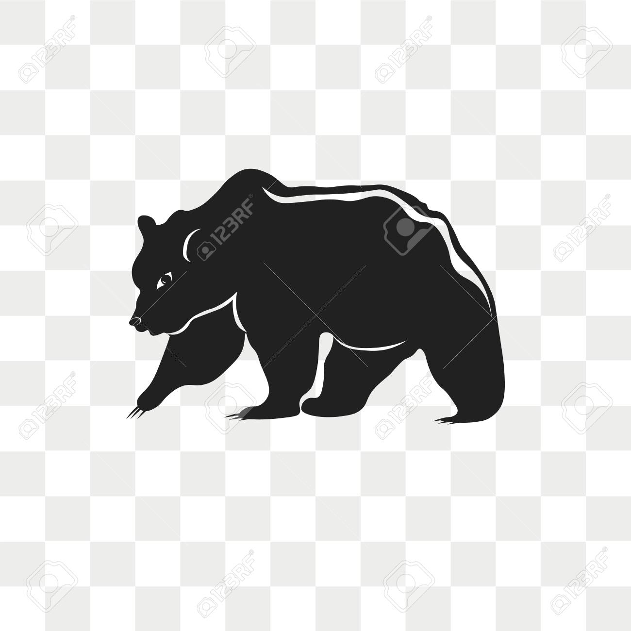bear vector icon isolated on transparent background bear logo royalty free cliparts vectors and stock illustration image 108634969 bear vector icon isolated on transparent background bear logo