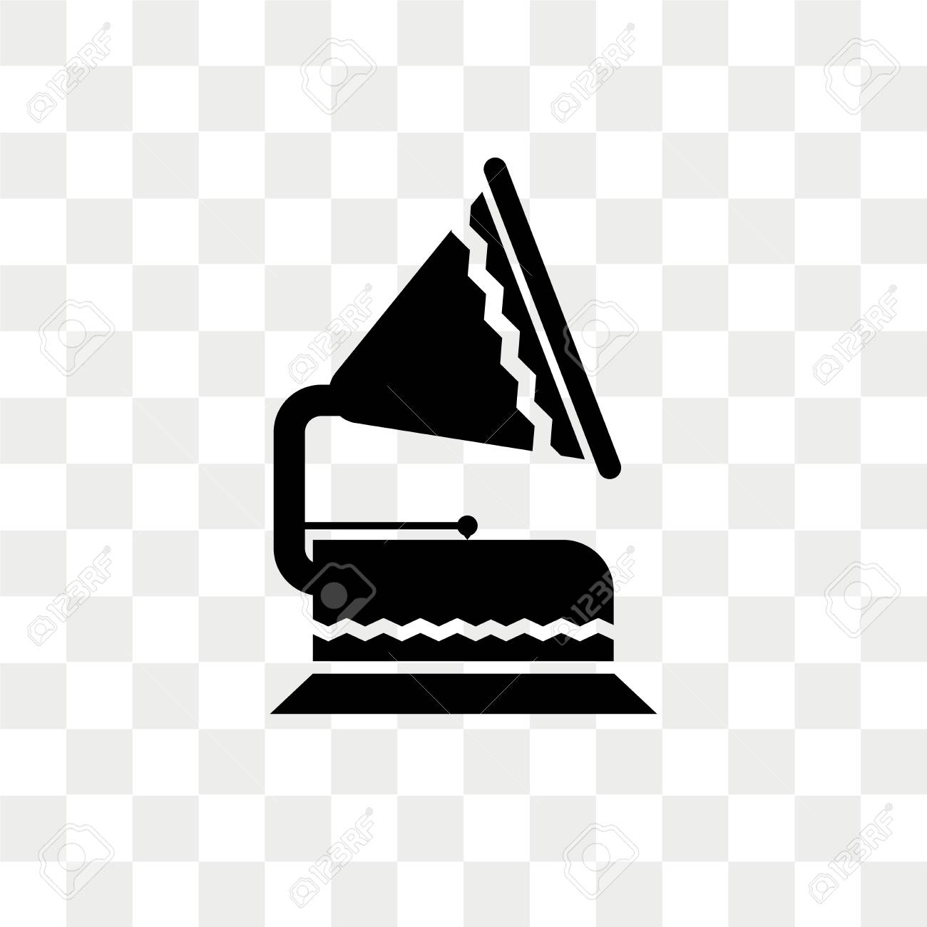 gramophone vector icon isolated on transparent background gramophone royalty free cliparts vectors and stock illustration image 108635188 gramophone vector icon isolated on transparent background gramophone