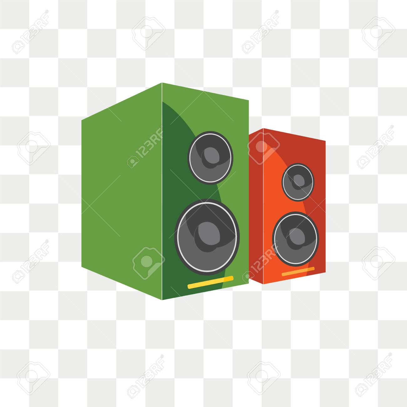 speakers vector icon isolated on transparent background speakers royalty free cliparts vectors and stock illustration image 108635265 speakers vector icon isolated on transparent background speakers