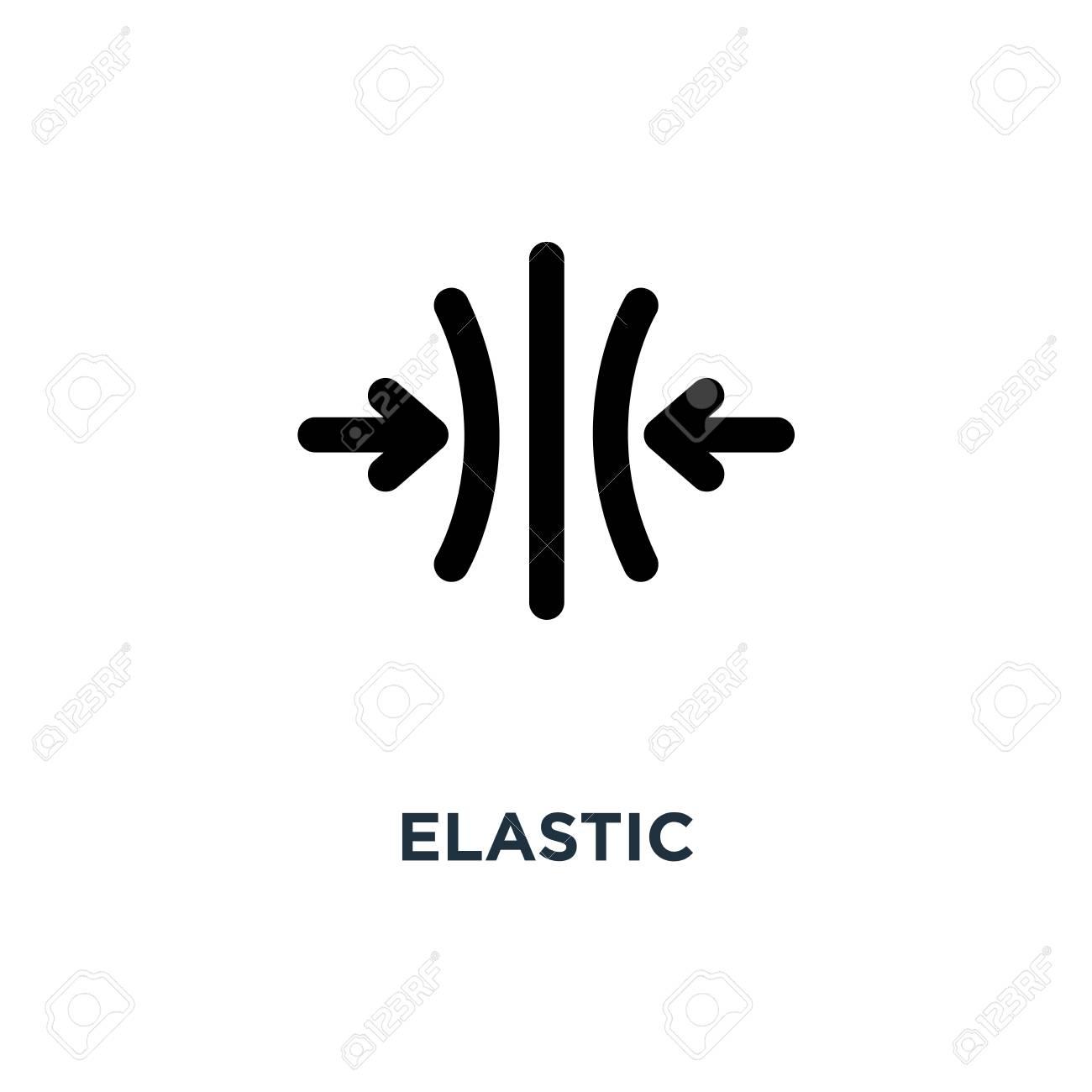 elastic icon. elastic concept symbol design, vector illustration - 109719688