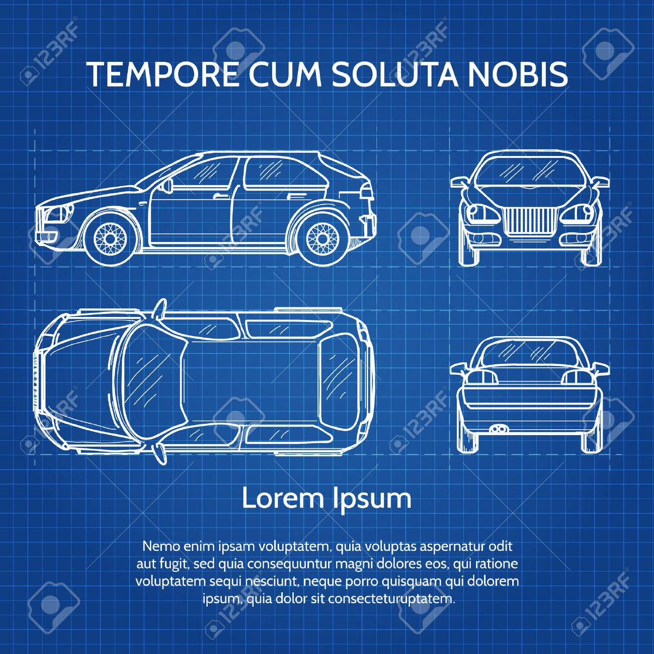 Vehicle drawing or vehicle blueprint image car blueprint vector vehicle drawing or vehicle blueprint image car blueprint illustration malvernweather Choice Image
