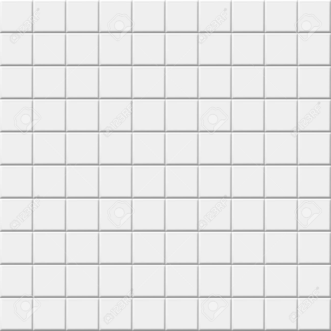White Ceramic Tile Background. Vector Tiles Texture Royalty Free ...