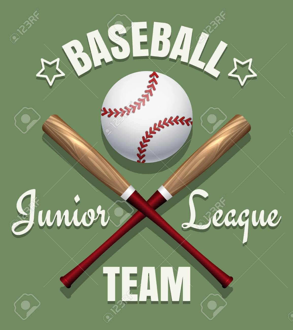 baseball game team vector emblem softball tournament badge template stock vector 63748670