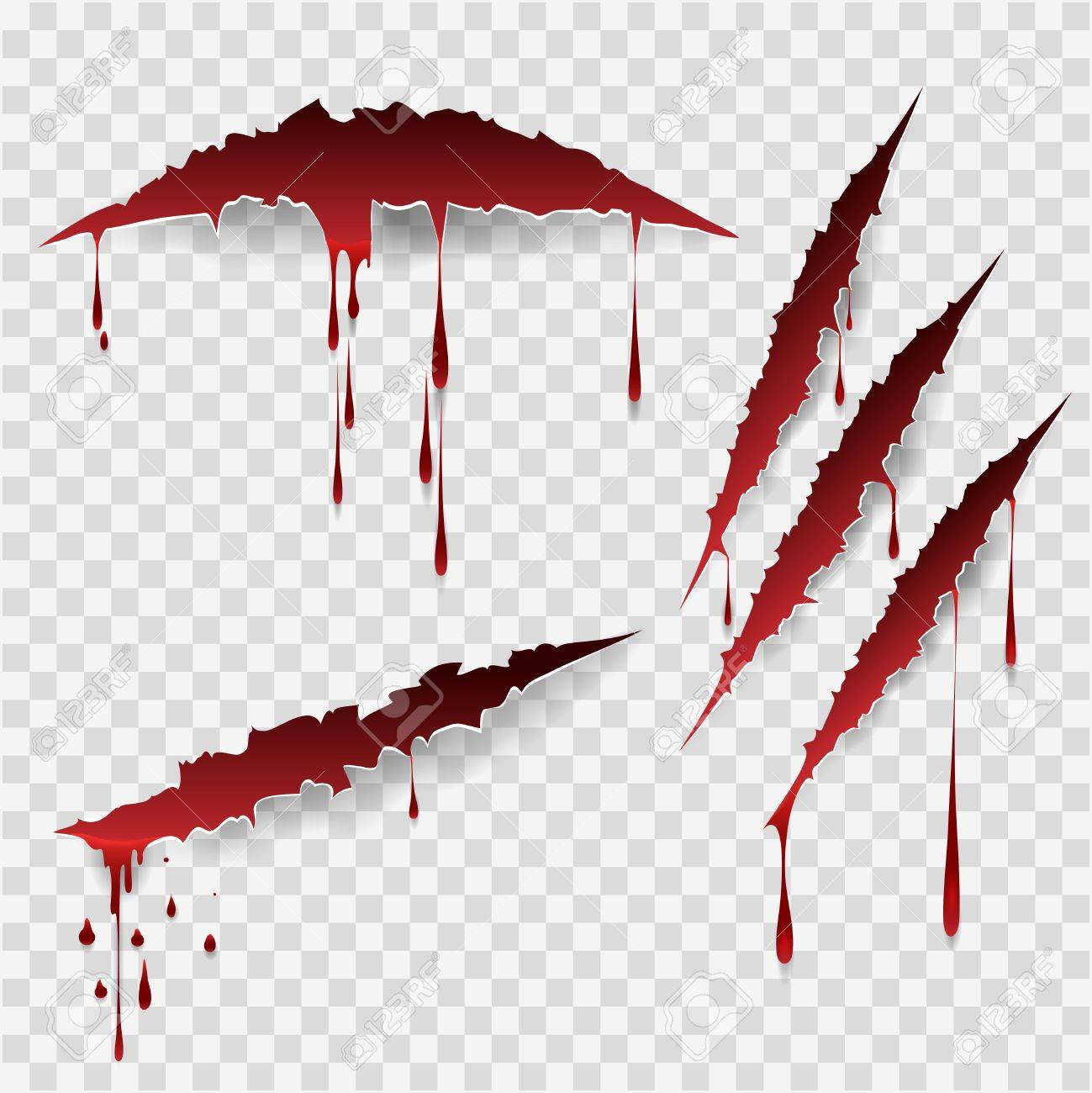 Manual Blood Marks