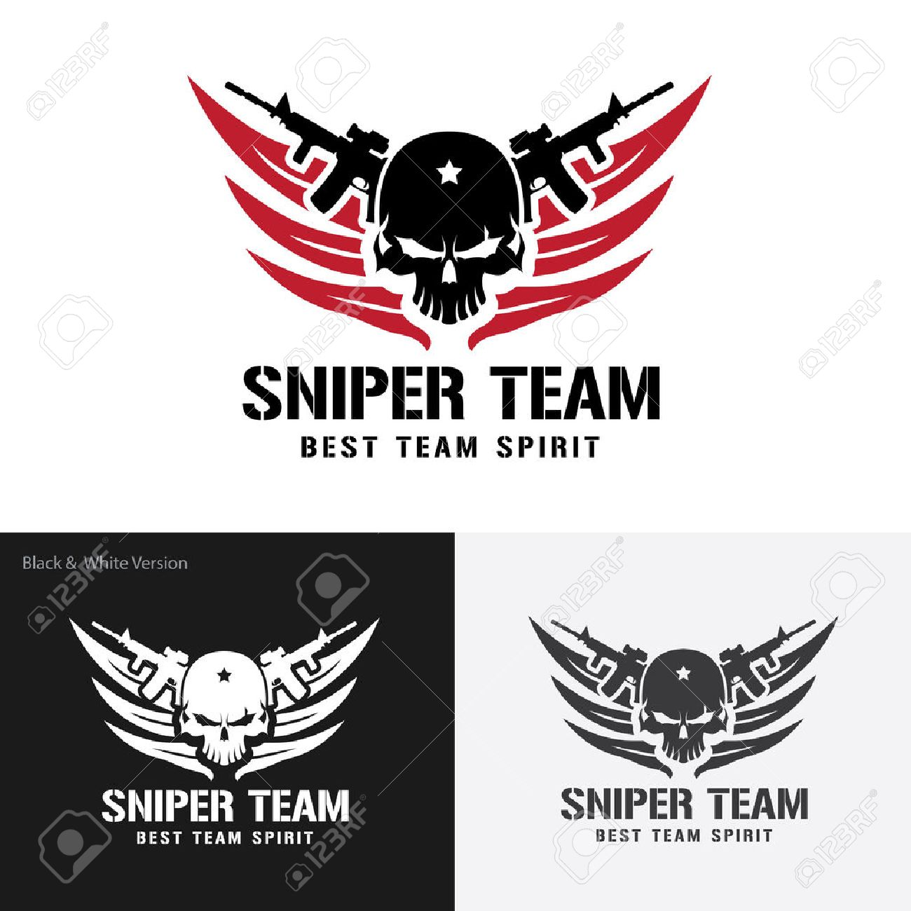 Siper Team Logo,warrior,Skull Logo,tattoo Vector,vector Logo ...