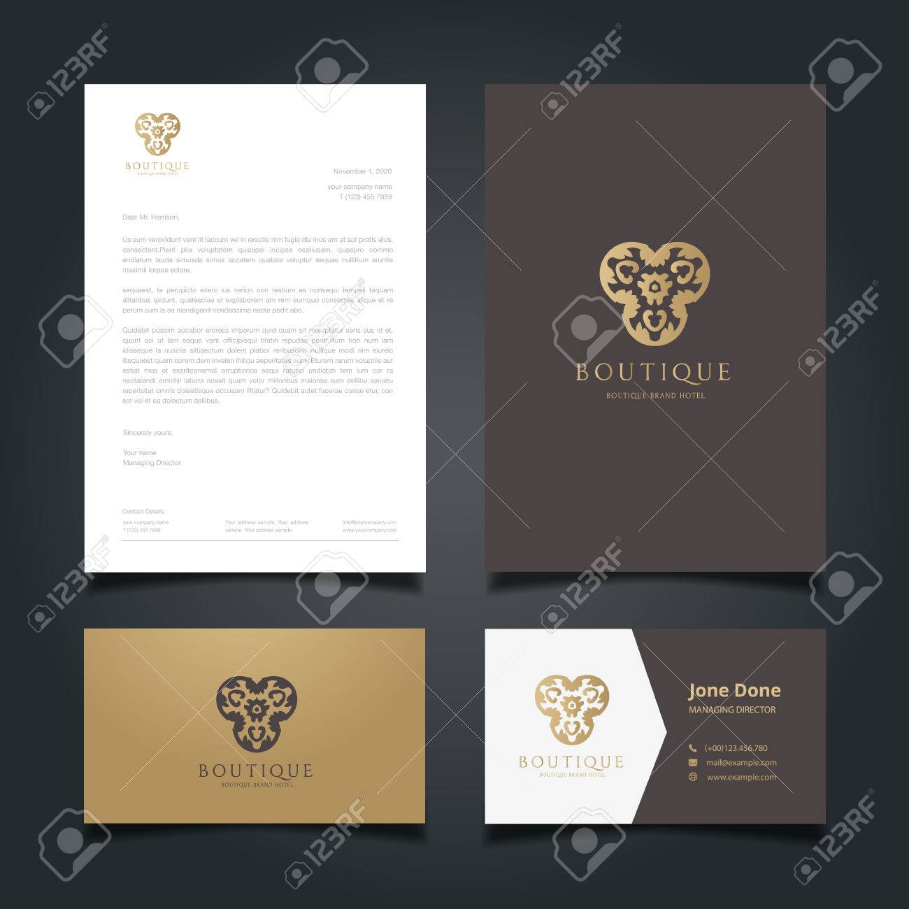 Luxury Logo,hotel Logo, Royal Brand, Boutique And Spa Logo, Logo ...