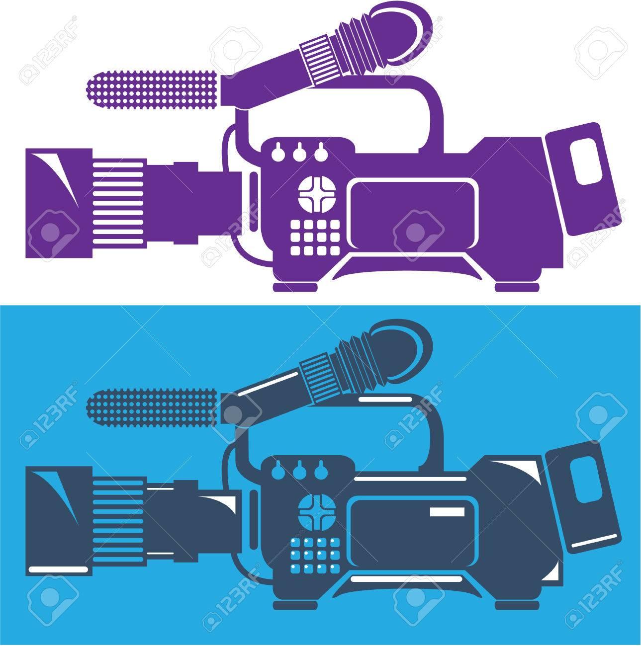 ビデオカメラ イラスト クリップ アート ベクトル ファイル ロイヤリティ