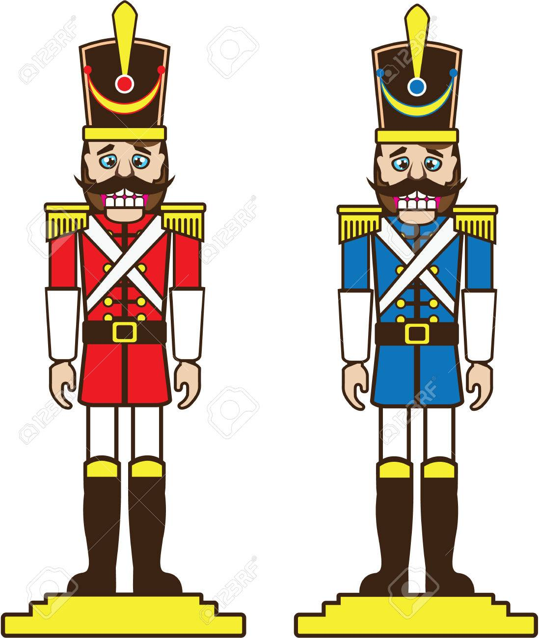 nutcracker vector illustration clip art image file royalty free rh 123rf com free clipart nutcracker ballet