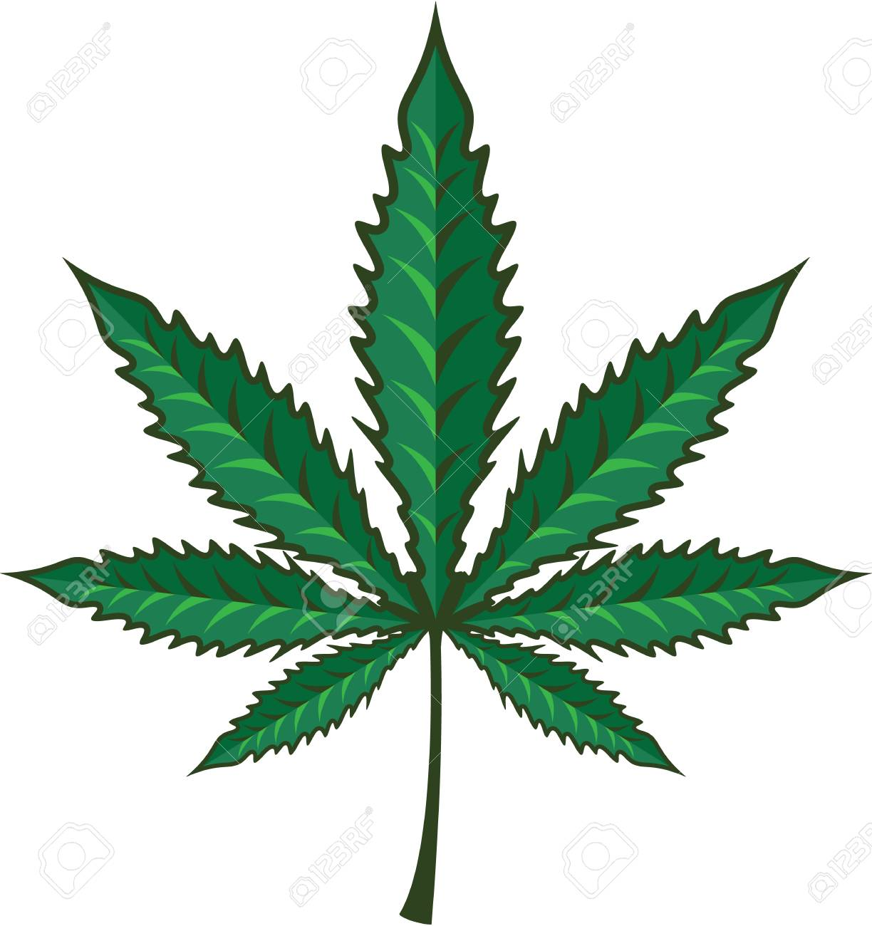 marijuana leaf vector illustration clip art image royalty free rh 123rf com clipart pot marijuana clip art free download