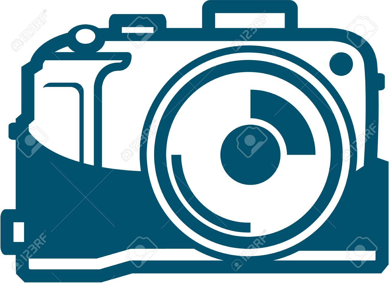 Clipart Photo Appareil Photo Unite Vector Illustration Clip Art Libres De Droits Vecteurs Et Illustration Image 69650832