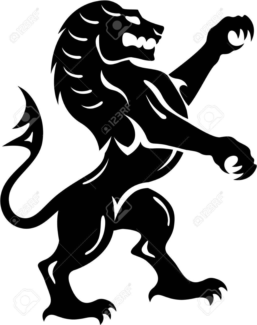 vintage royal beast lion vector illustration clip art image royalty rh 123rf com vector art file vector art 3d