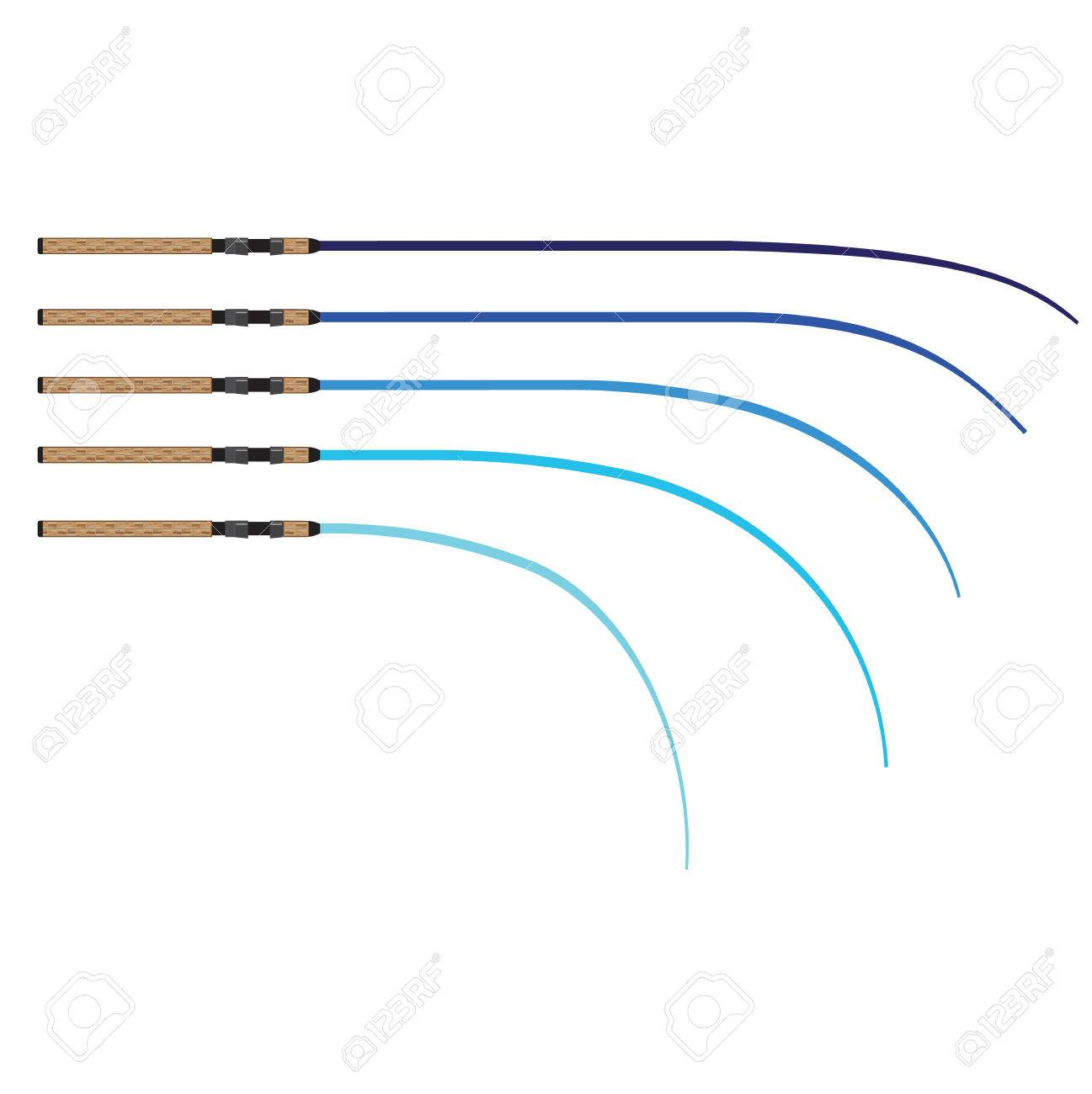 Download Bent Fishing Rod Vector Curved Rod Blanks Illustration Royalty Free Cliparts Vectors And Stock Illustration Image 68044498