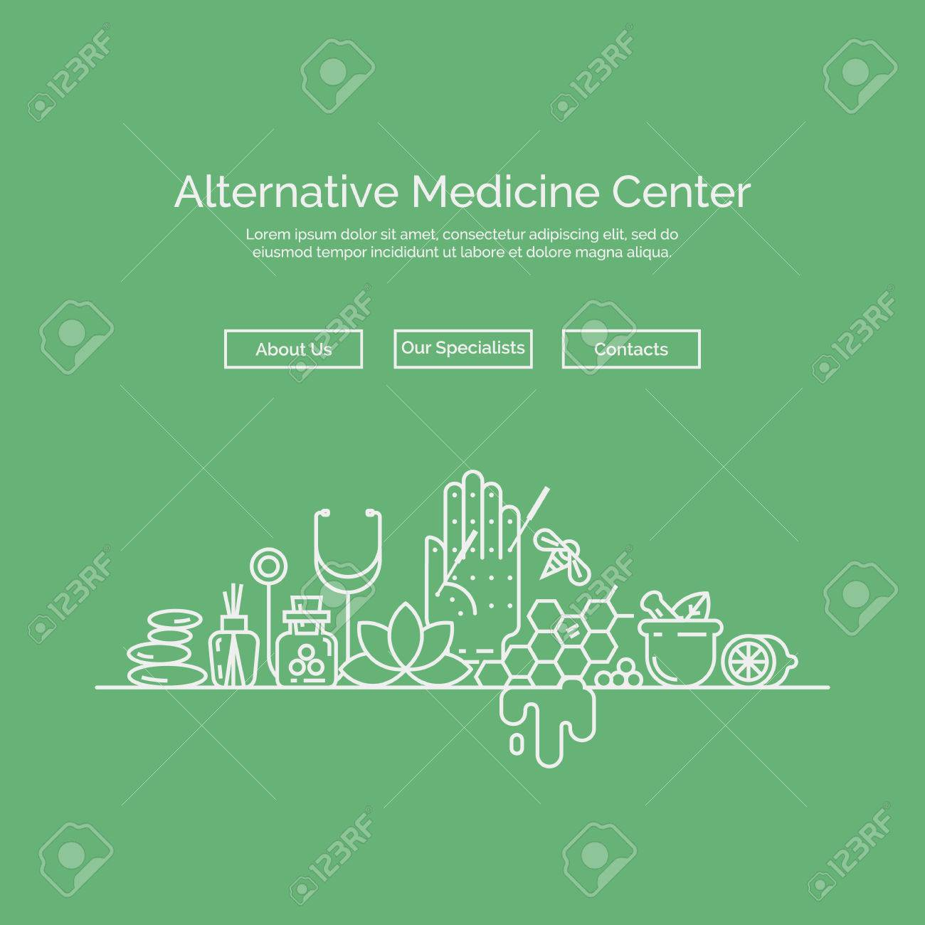 Modern Linear Style. Holistic Center, Naturopathic Medicine ...