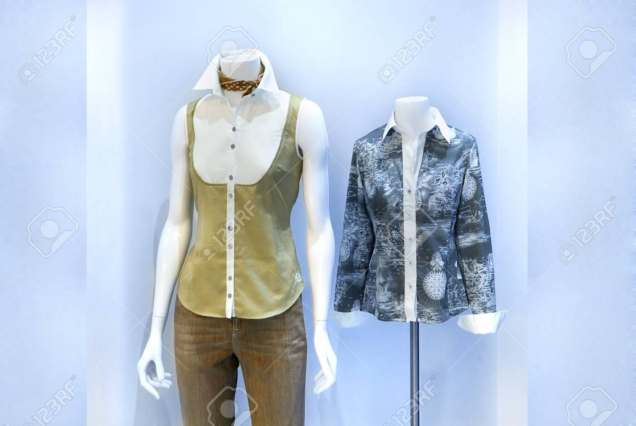 Women s shirt store Stock Photo - 16537673