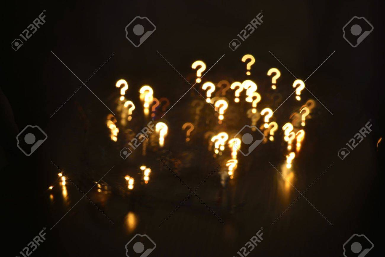 questions abstract blur background (user questions) - 43638775