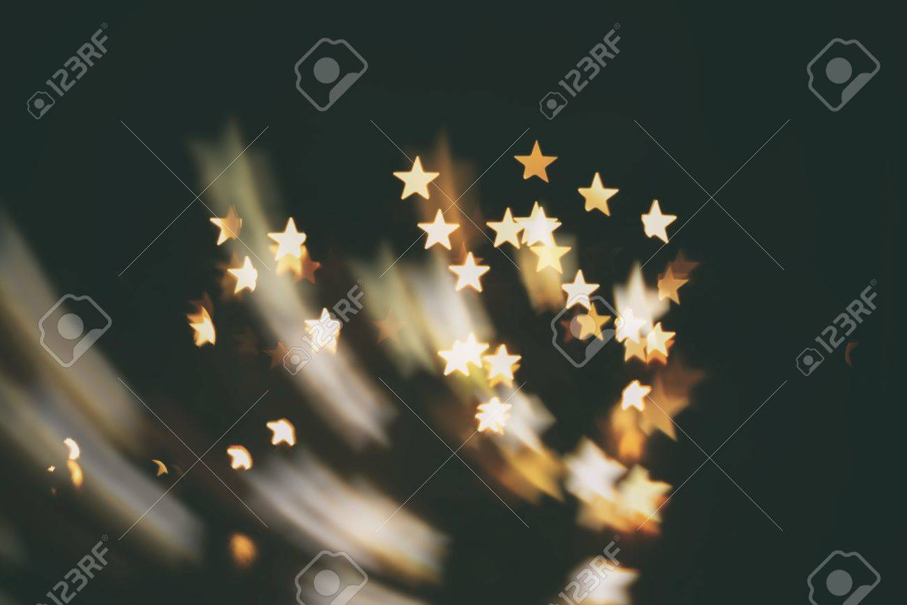 shooting star abstract blur background ( kindle stars ) - 43638897