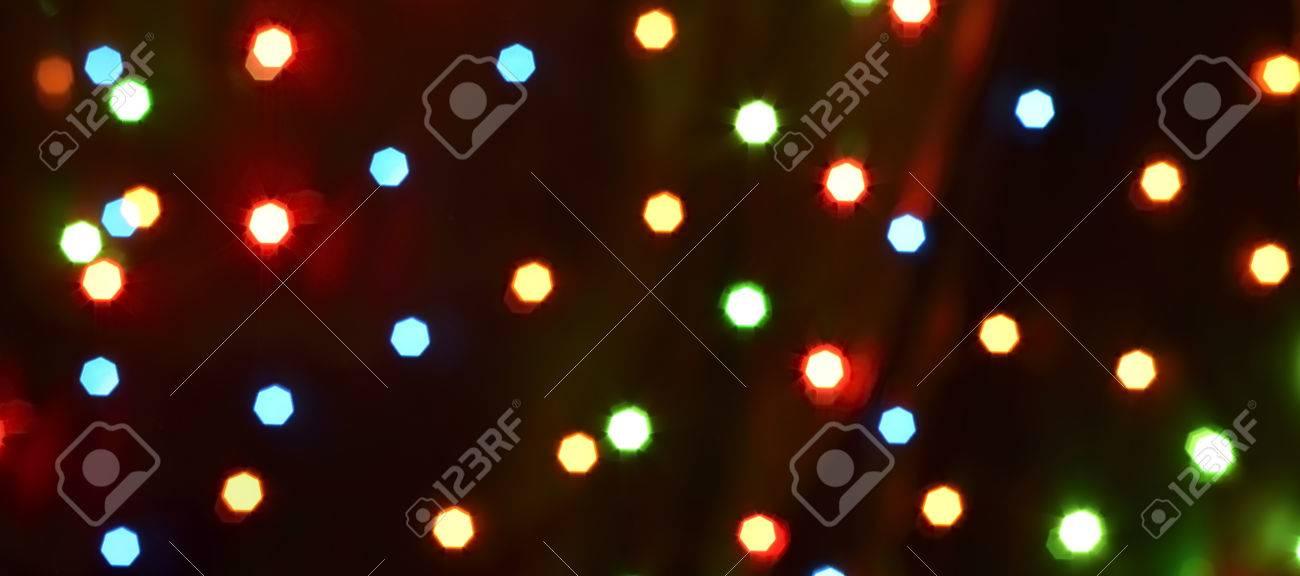 bokeh colorful background (dots light starflight) - 58901061