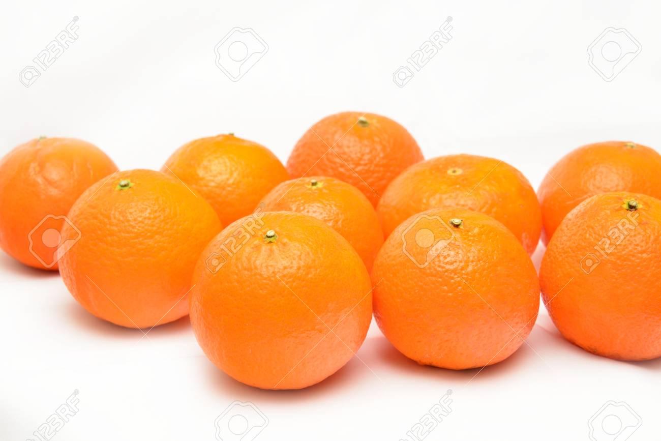 many fresh unrefined organic mandarin (tangerines) - 58948873