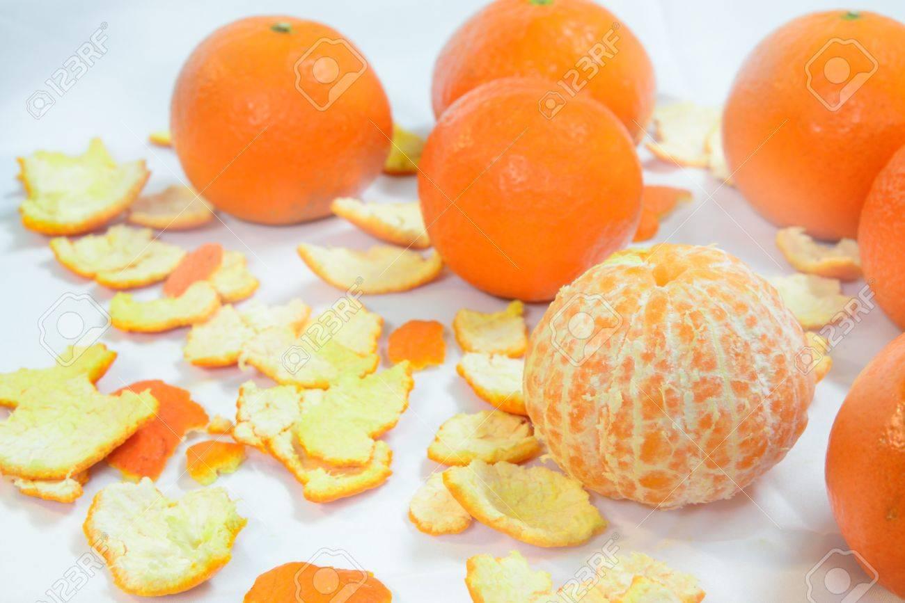 organic mandarin (tangerines) and zest - 58948878