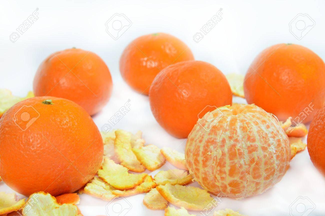 organic mandarin (tangerines) and zest - 58948879