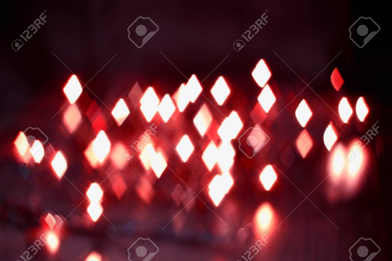 luminous rhombus flying in darkness abstract blur background - 59260530
