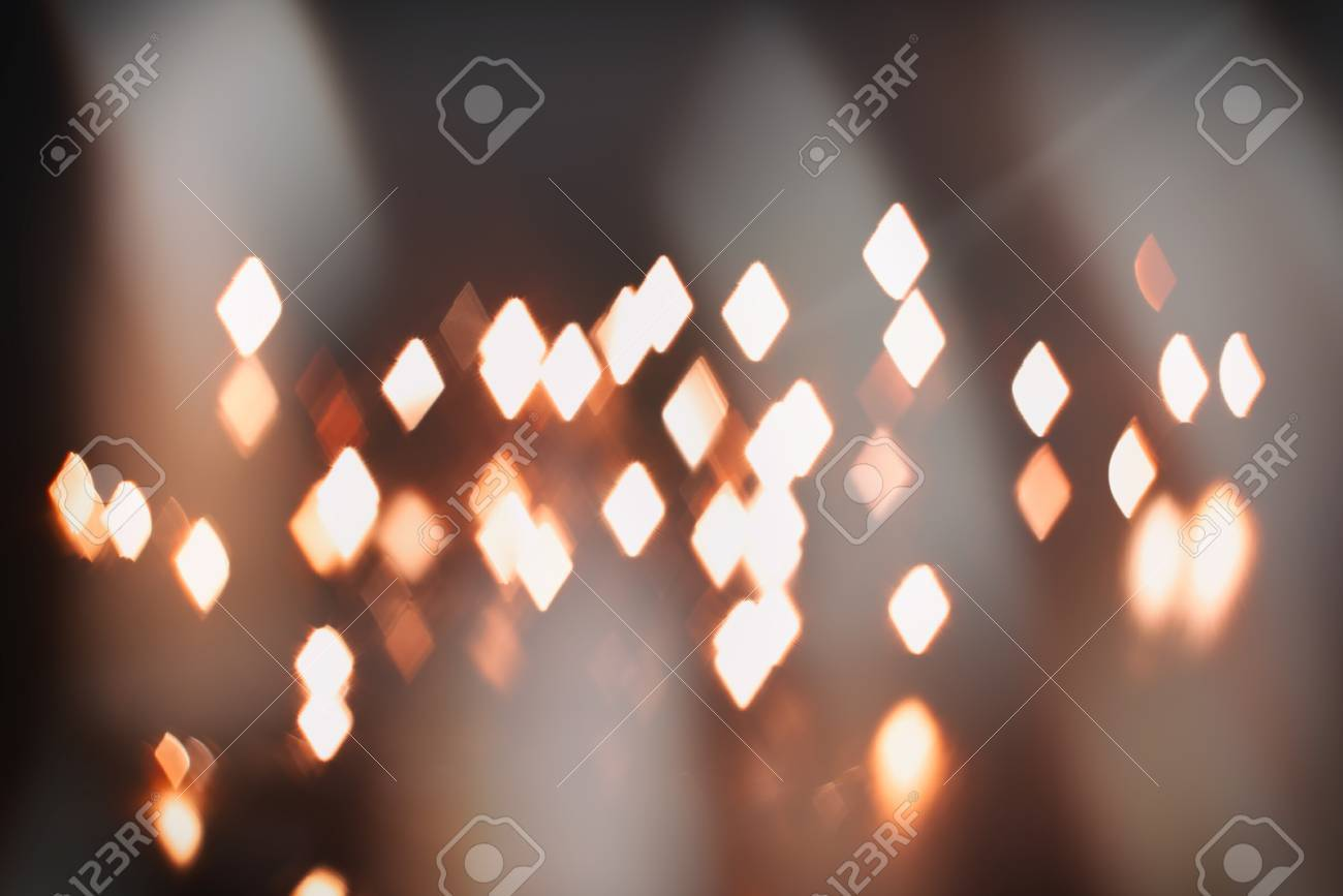 luminous rhombus flying in darkness abstract blur background - 59260423