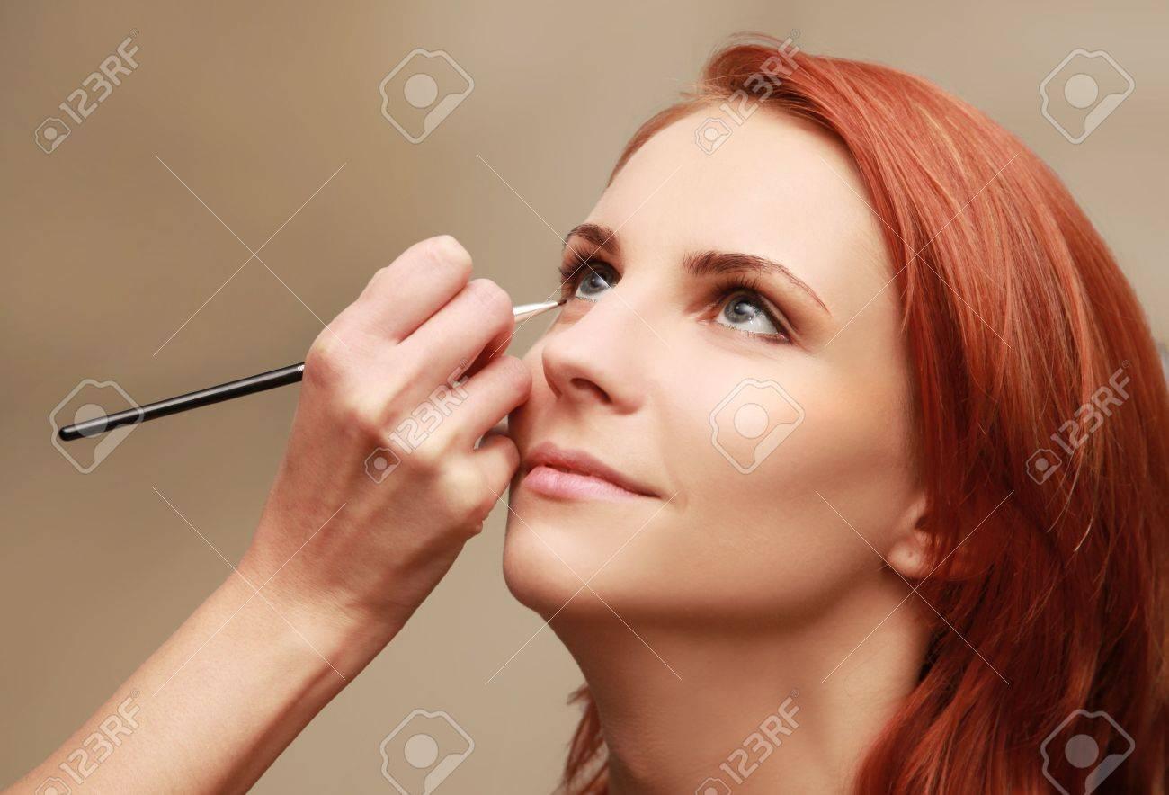 beautiful young woman in beauty-salon Stock Photo - 5938075