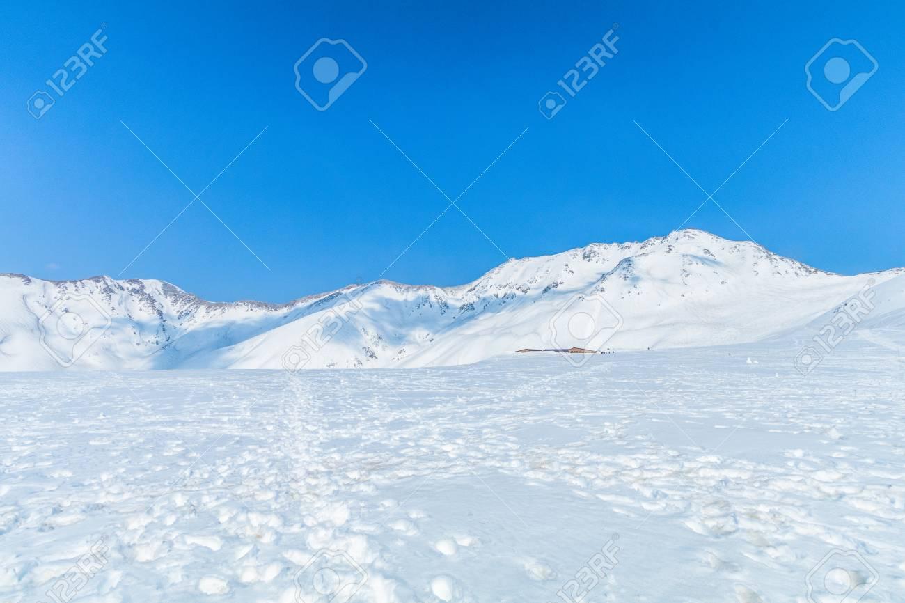 Immagini Stock Le Montagne Di Neve Di Tateyama Kurobe Alpine Con