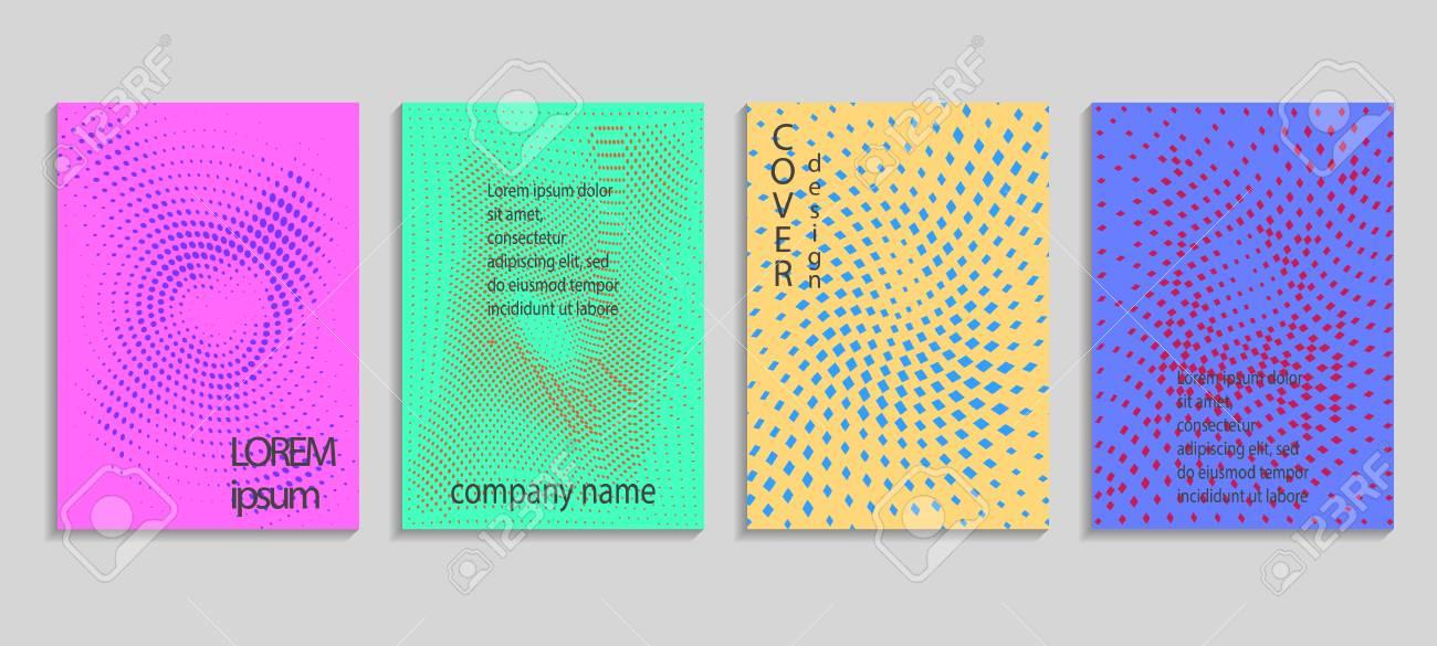 Minimal Abstract Vector Halftone Covers Design Future Geometric