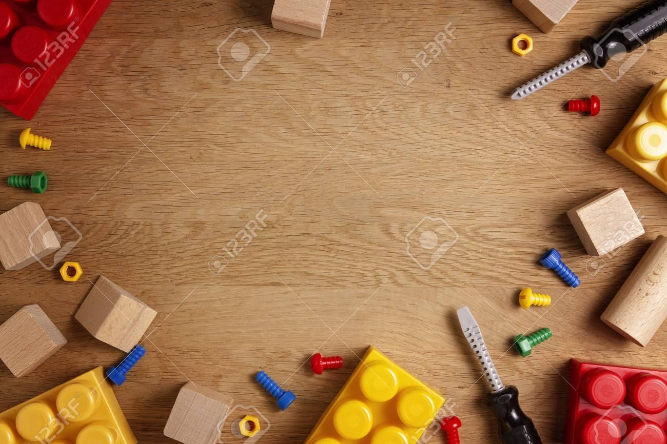 Fondo de juguetes