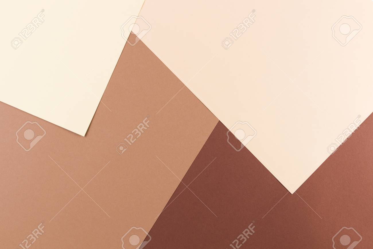 Color Papers Geometry Composition Background With Pink, Beige ...
