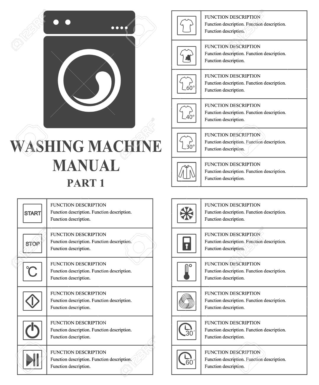 Oven manual symbols part 1 instructions signs and symbols for oven manual symbols part 1 instructions signs and symbols for washing machine exploitation manual buycottarizona Image collections