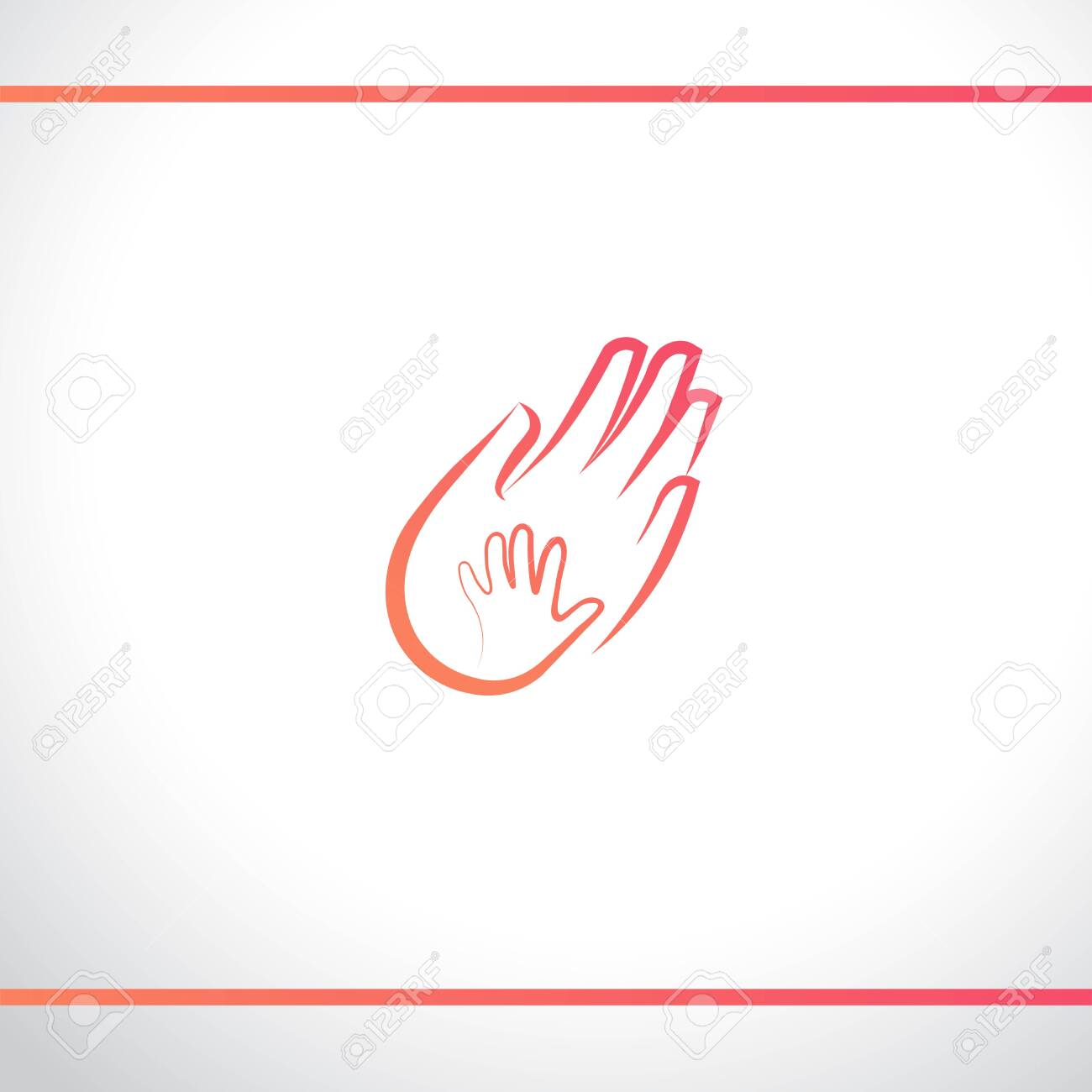 Hands Baby And Adult Mother And Child Father And Baby Parent Royalty Free Cliparts Vectors And Stock Illustration Image 134173023