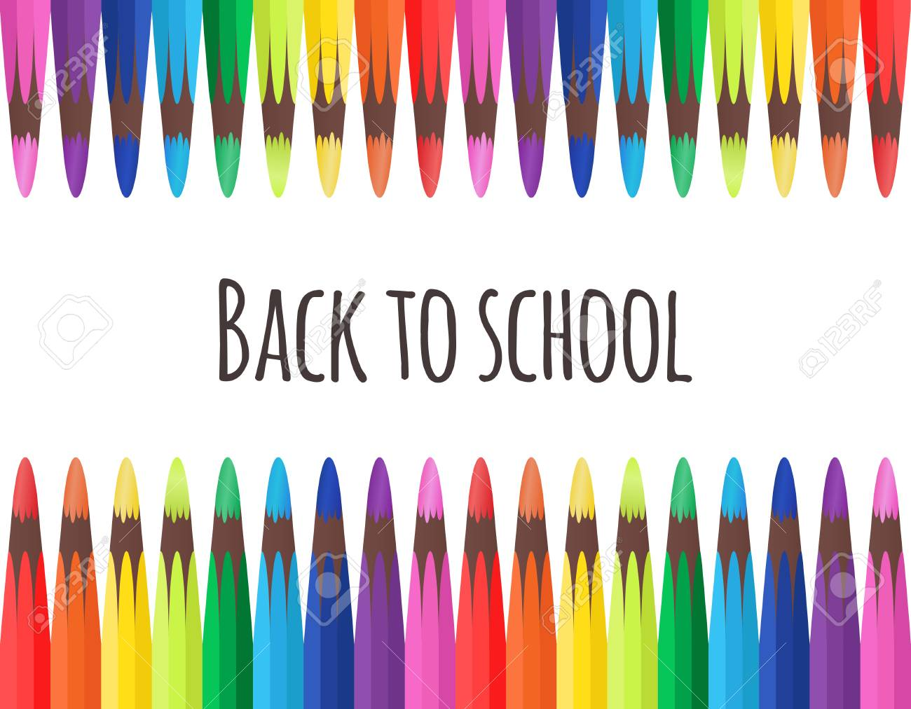 Crayons Ecole Scrap Couleurs Klipart Pinterest Make - Pencil And Paper  Cartoon Clipart (#274857) - PinClipart