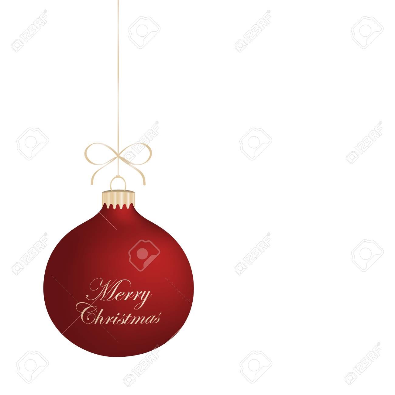 Isolated realistic vector Christmas ball Stock Vector - 16188983