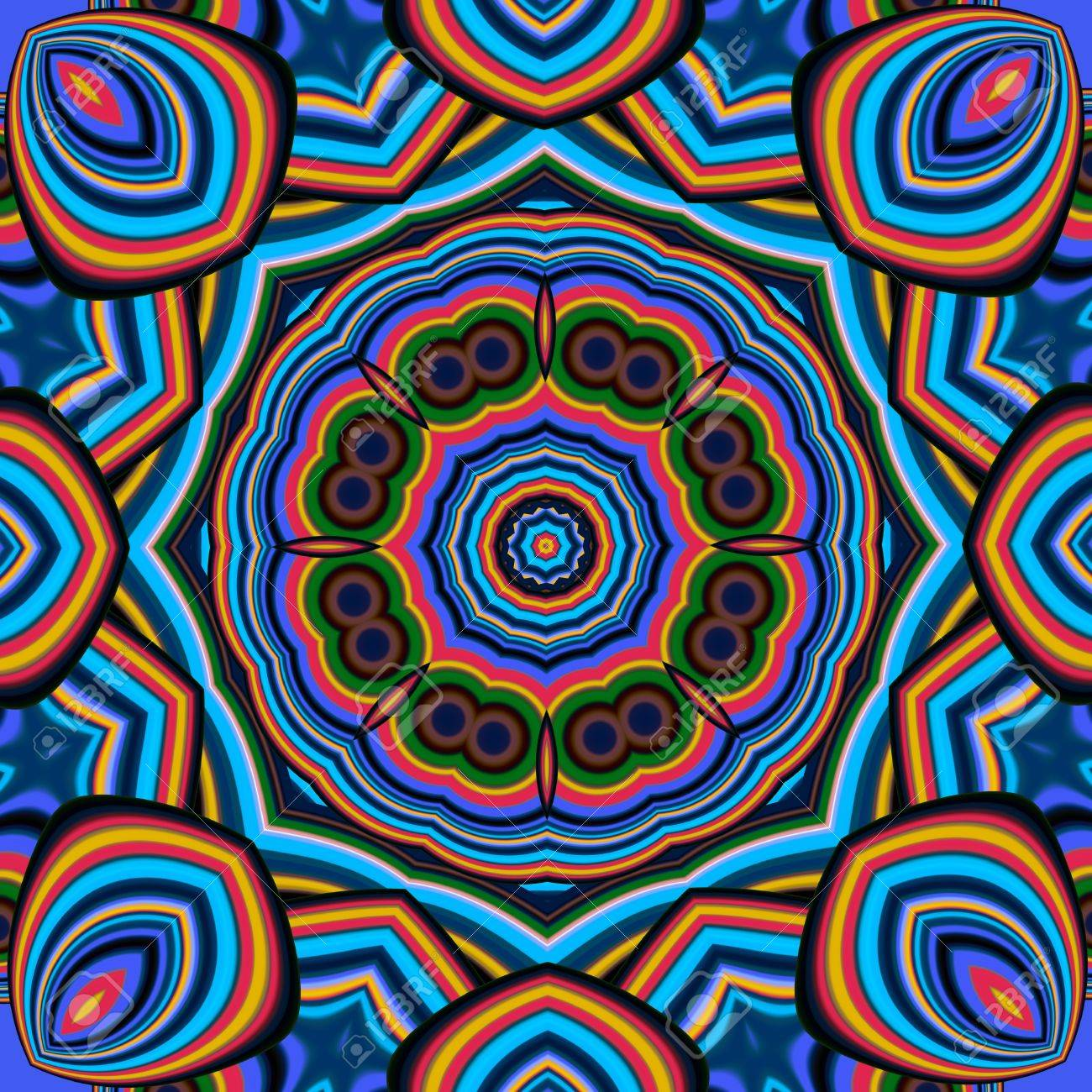 Creative Design To Cover Notebook ~ Colorful abstract mandala background. you can use it for invitations