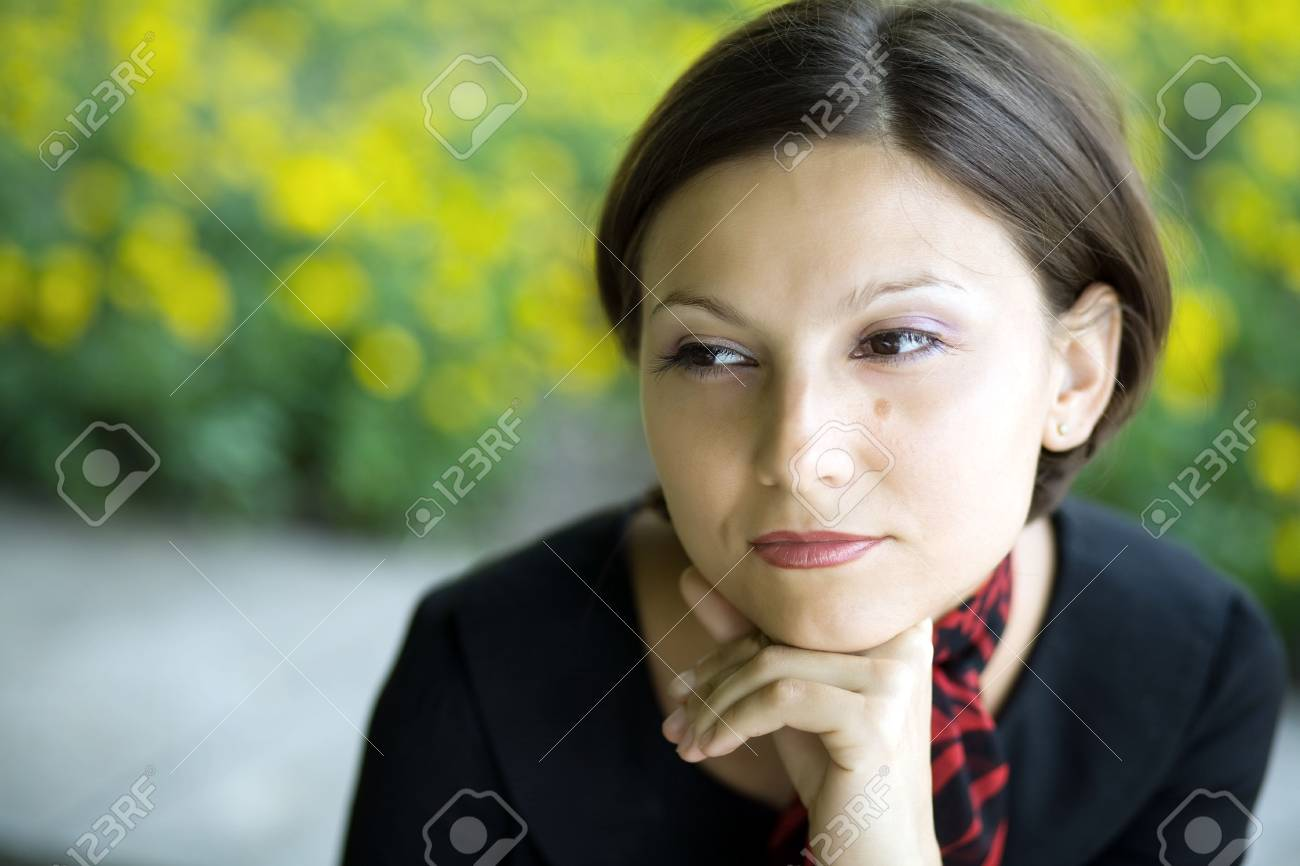 An image of a portrait of a young woman Stock Photo - 5362771